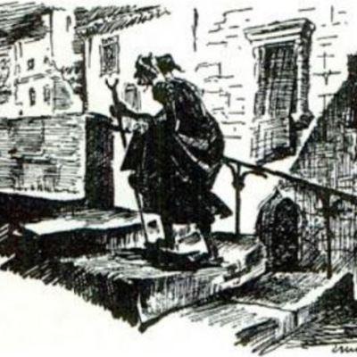 Ilustración del acto III de la edición de París (1989)