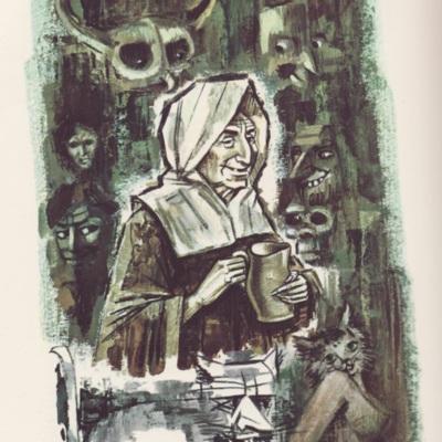 Ilustración quinta del acto IX de la edición de Barcelona (1968)