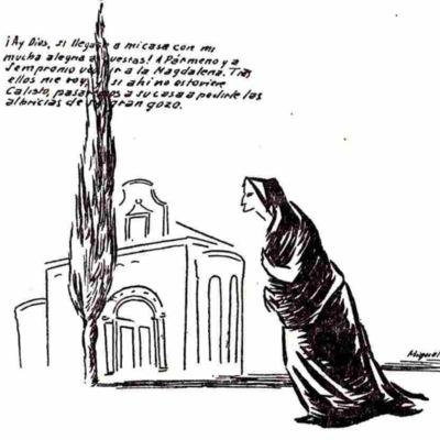Ilustración segunda del acto XI de la edición de México (1947)