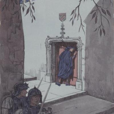 Ilustración tercera del acto XII de la edición de París (1949)