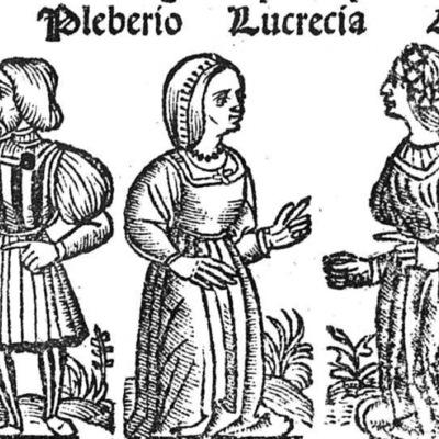 Ilustración del acto XXI de la edición de Toledo (1538)
