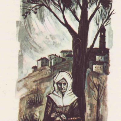 Ilustración segunda del acto VIII de la edición de Barcelona (1968)