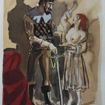 Ilustración del Acto XV de la edición de París (1976)