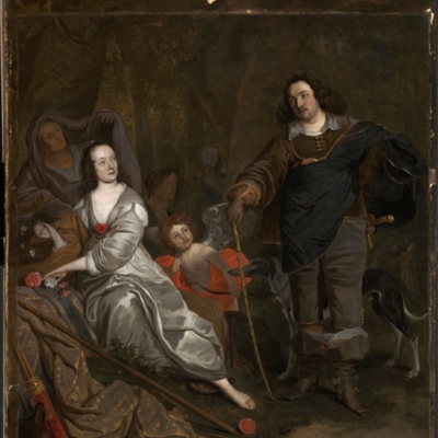 Don Juan y Constanza, de Adriaensz Backer (c. 1650)