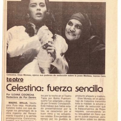 Representación del Teatro Repertorio Clásico Mundial, San Juan, Puerto Rico, 1990.