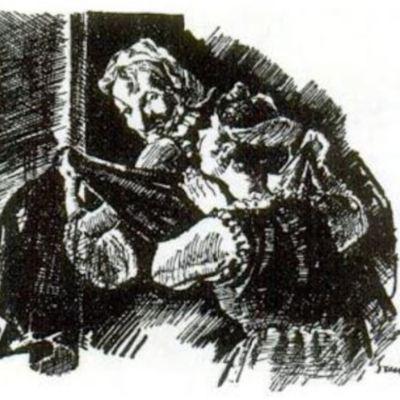 Ilustración del acto VIII de la edición de París (1989)