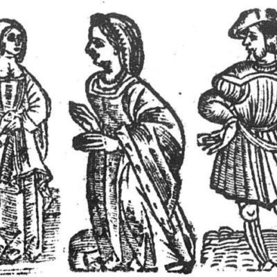 Ilustración primera del acto XII de la edición de Toledo (1538)