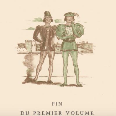 Ilustración cuarta del acto VIII de la edición de París (1949)