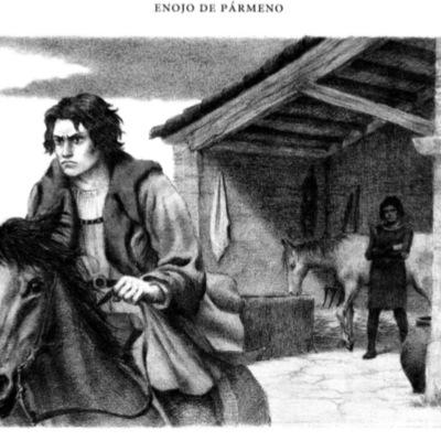 Ilustración segunda del acto II de la edición de Barcelona (1996)