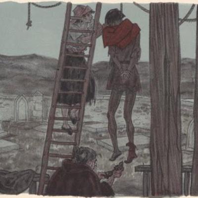 Ilustración segunda del acto VII de la edición de París (1949)