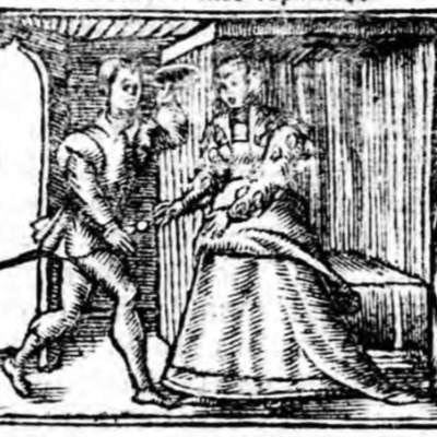 Ilustración del acto XVII de la edición de Zaragoza (1545)