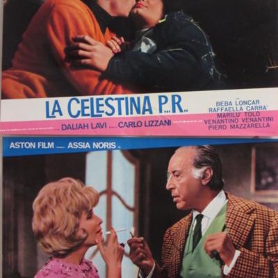 Fotocromo 1 de la película La CelestinaP...R...de Lizzani.