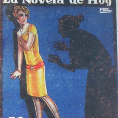 Lo horrible, portada de La  novela de hoy (1927)