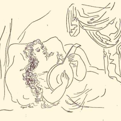 Ilustración segunda del acto XVI de la edición de México (1947)