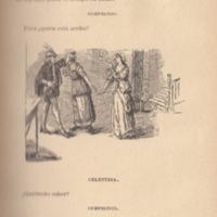 Ilustración segunda del acto I de la edición de Barcelona (1883)