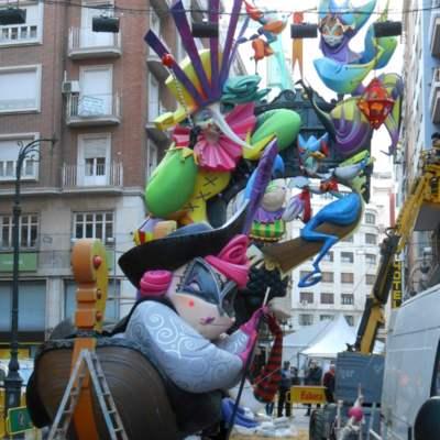 Falla valenciana Pantomima i Celestina sempre han fet molt bona rima, de Martínez Aparici (2017)