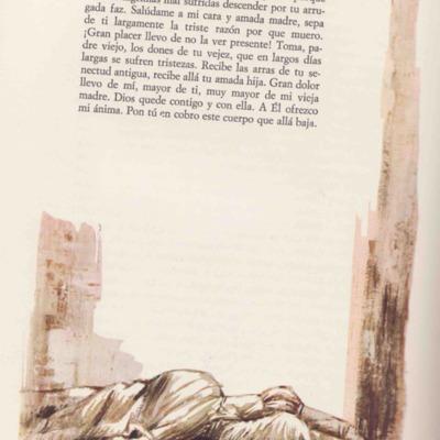 Ilustración segunda del acto XX de la edición de Barcelona (1968)