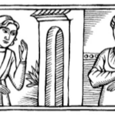 Ilustración primera del acto XVII de la edición de Barcelona (1996)