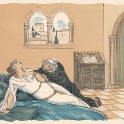 Ilustración segunda del acto X de la edición de París (1949)