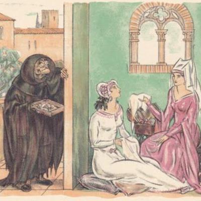 Ilustración tercera del acto IV de la edición de París (1949)