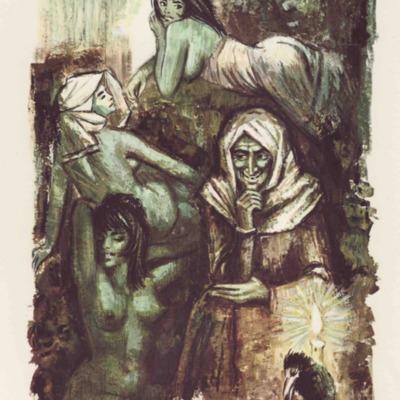 Ilustración de la contraportada de la edición de Barcelona (1968)