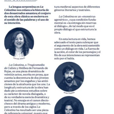 Representación del Teatro Español, Madrid, 2014 <br />