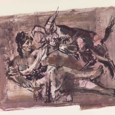 Ilustración primera del acto X de la edición de Barcelona (1968)