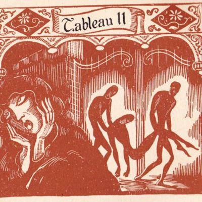 Imagen primera del acto XIX de la edición de París (1943)