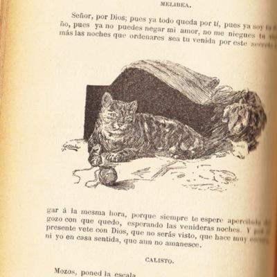 Ilustración segunda del acto XIV de la edición de Barcelona (1883)