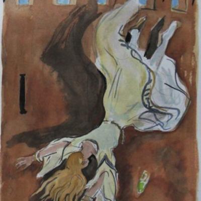 Ilustración del acto XX de la edición de París (1976)