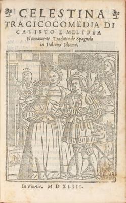 Portada de Venecia, 1543.
