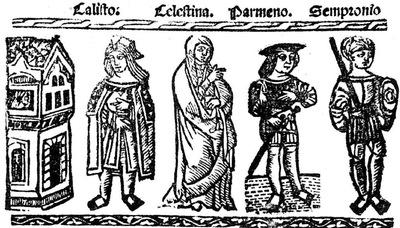 Ilustración del acto VI de la edición de Valencia (1529)