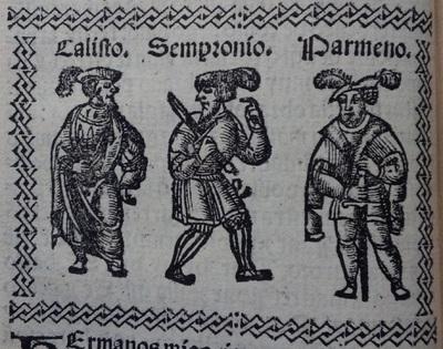 Ilustración del acto 2 de Medina del Campo, 1530