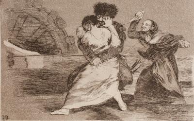 No quieren, de Goya (1810 c.)