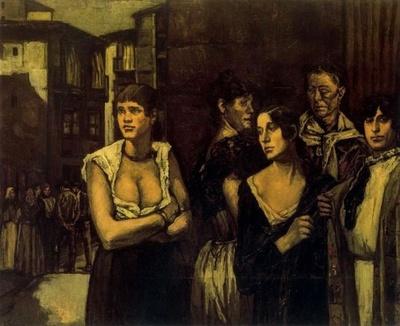 Mujeres de la vida, de Solana (1916)