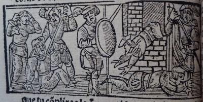 Ilustración segunda del acto 12 de Medina del Campo, 1530<br /> <br />