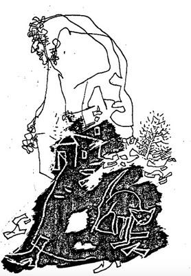 Ilustración de Celestina de la edición de Budapest (1979)