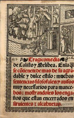 Portada de Medina del Campo, 1536