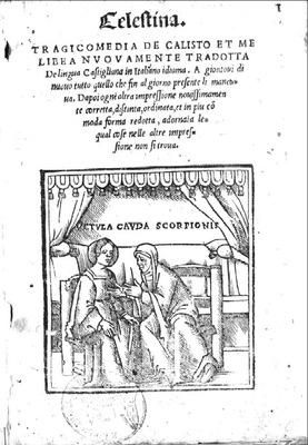 Portada de Venecia, 1535.