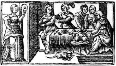 Ilustración del acto IX de la edición de Zaragoza (1545)