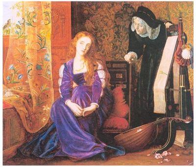 """El corazón dolorido o """"no más señoras"""", (1868)"""