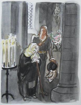 Ilustración del Acto XI de la edición de París, 1976