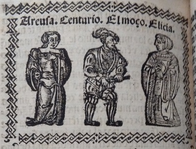 Ilustración del acto 15 de Medina del Campo, 1530