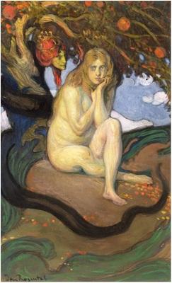 Tentación, de Rozentāls (1913)