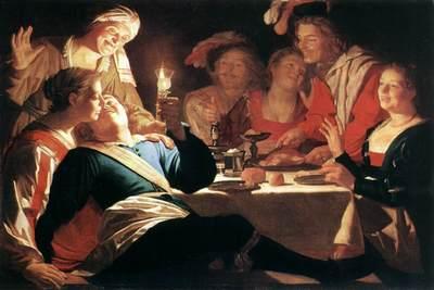 El hijo pródigo, de Honthorst (1622)
