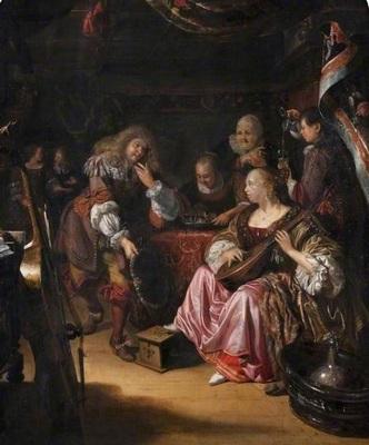 Una escena en un burdel, de Naiveu (1672(?))