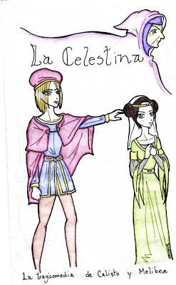 Cómic de La Celestina, trabajo escolar, varios autores (2008)