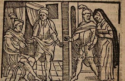 Ilustración del acto I de la edición de Amberes (1616)