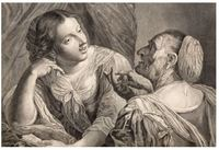 Sin título, grabado de Pazzi  de dibujo de Lorenzi.