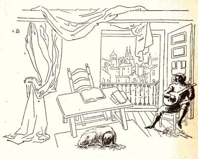 Ilustración quinta del prólogo de la edición de México (1947)